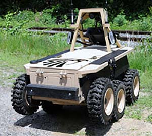 Black-I Landshark Ground Vehicle Robot